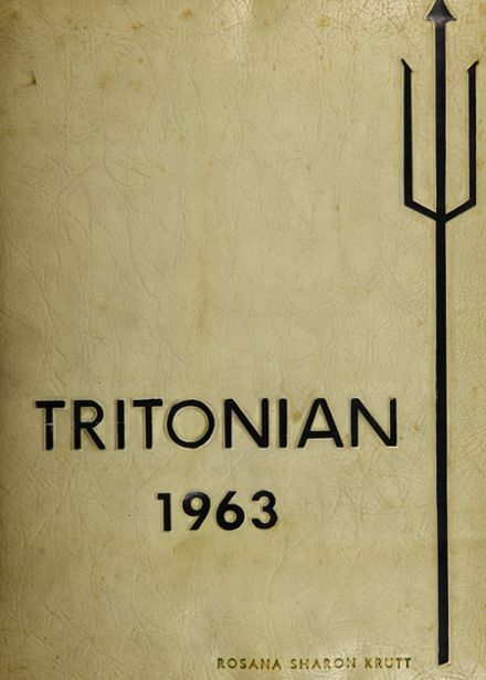 1963 Triton Regional High School Yearbook Cover