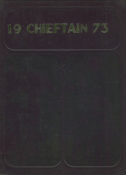 1973 Shiner High School Yearbook Cover
