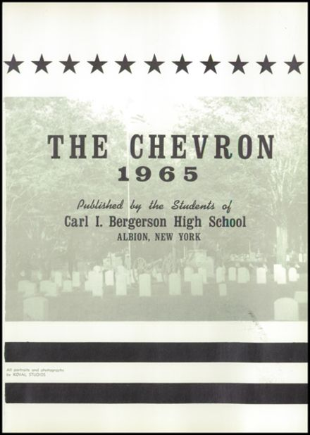 1965 Albion High School Yearbook Page 5