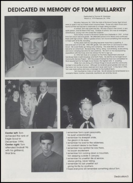 1997 Richland Center High School Yearbook Page 7