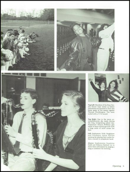 1992 Dublin High School Yearbook Page 9