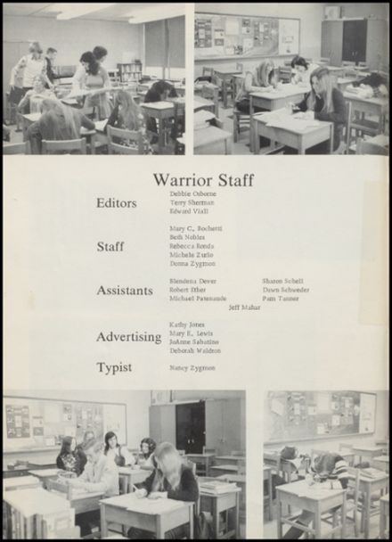 1973 Stillwater High School Yearbook Page 6