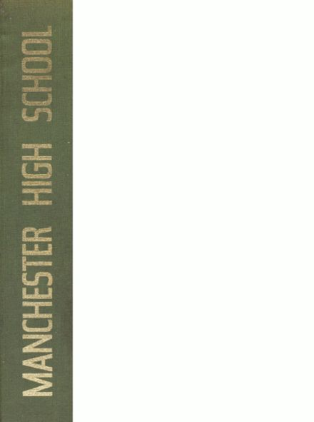 1976 Manchester High School Yearbook Cover