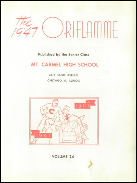 1947 Mt. Carmel High School Yearbook Page 7