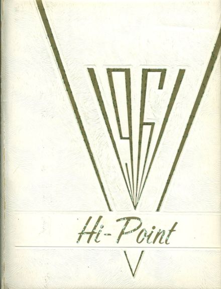 1961 Meyersdale Area High School Yearbook Cover