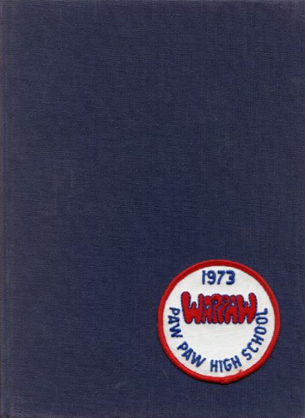1973 Paw Paw High School Yearbook Cover