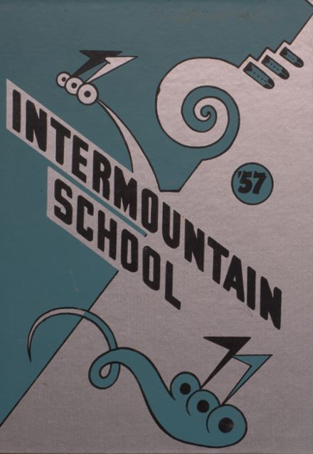1957 Intermountain Indian High School Yearbook Cover