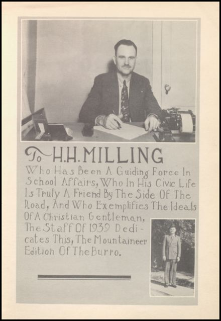 1939 Mineral Wells High School Yearbook Page 7