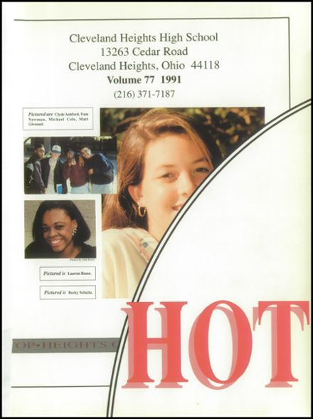 1991 Cleveland Heights High School Yearbook Page 5
