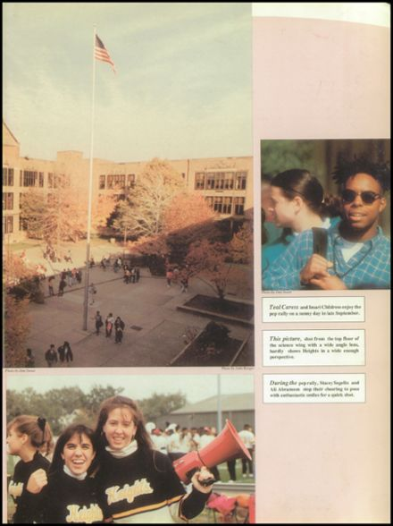 1991 Cleveland Heights High School Yearbook Page 7