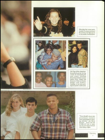 1991 Cleveland Heights High School Yearbook Page 9