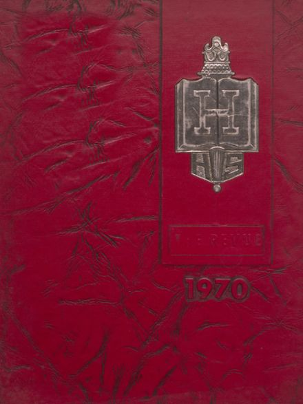 1970 Henderson City High School Yearbook Cover