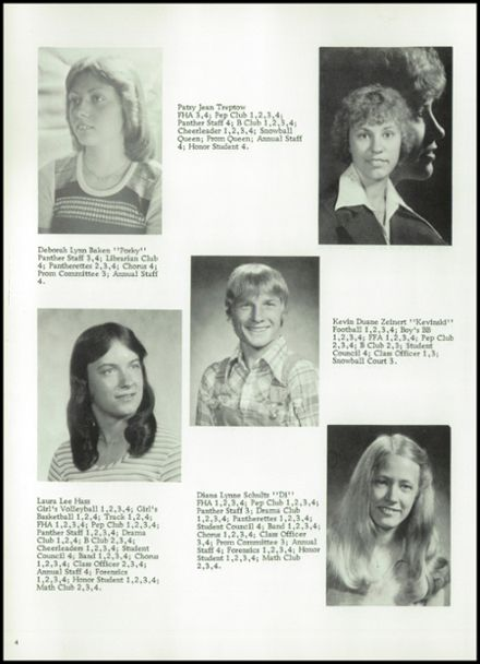1978 Bowler High School Yearbook Page 8
