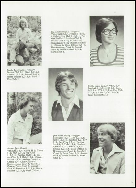 1978 Bowler High School Yearbook Page 9