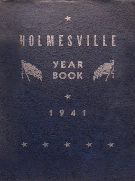 1941 Holmesville High School Yearbook Cover