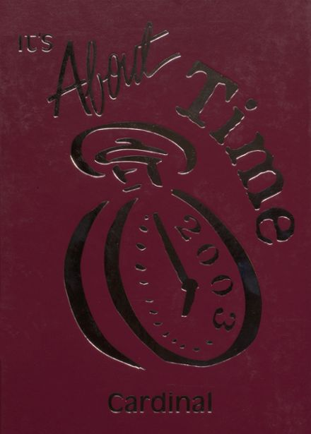 2003 Dollarway High School Yearbook Cover