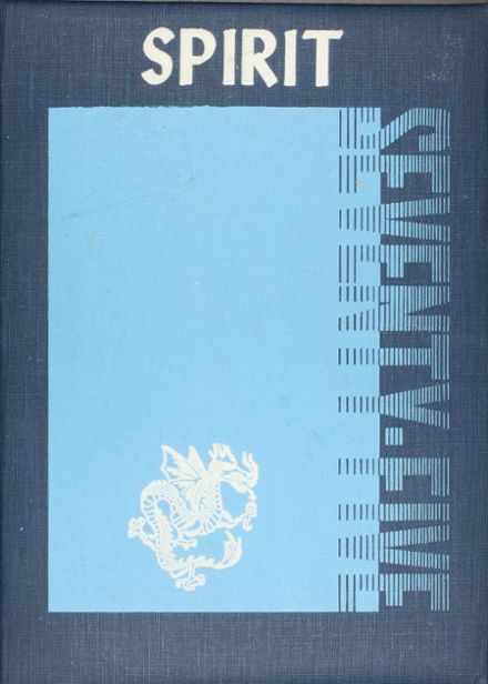 1975 Seagoville High School Yearbook Cover