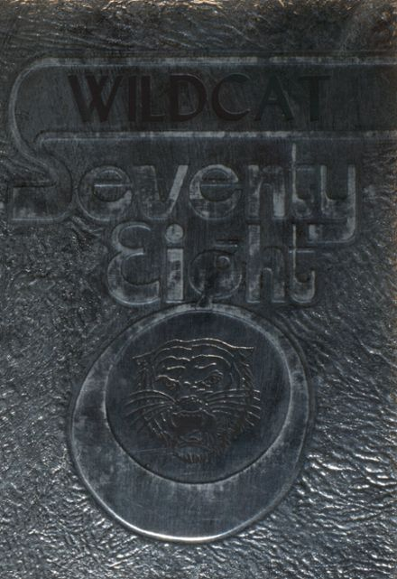 1978 Whiteoak High School Yearbook Cover