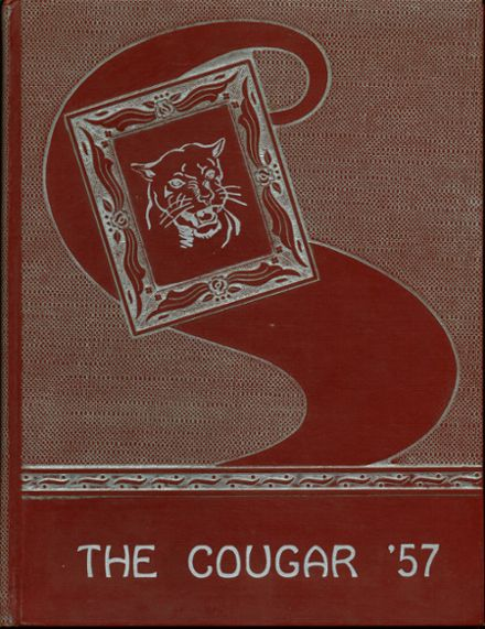 1957 Cale High School Yearbook Cover