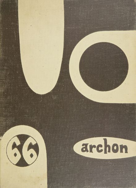 1966 Stagg High School Yearbook Cover