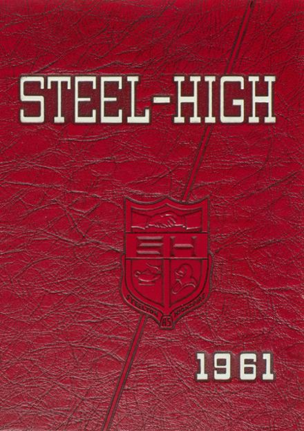 1961 Steelton-Highspire High School Yearbook Cover