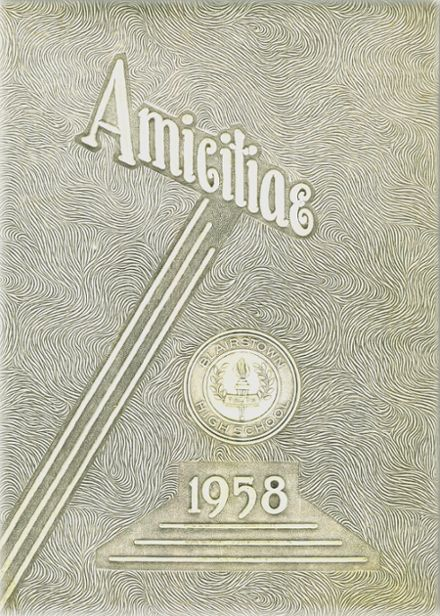 1958 Blairstown High School Yearbook Cover