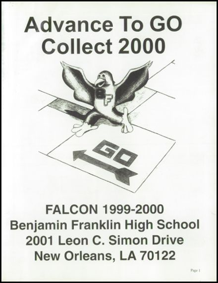 2000 Benjamin Franklin High School Yearbook Page 5