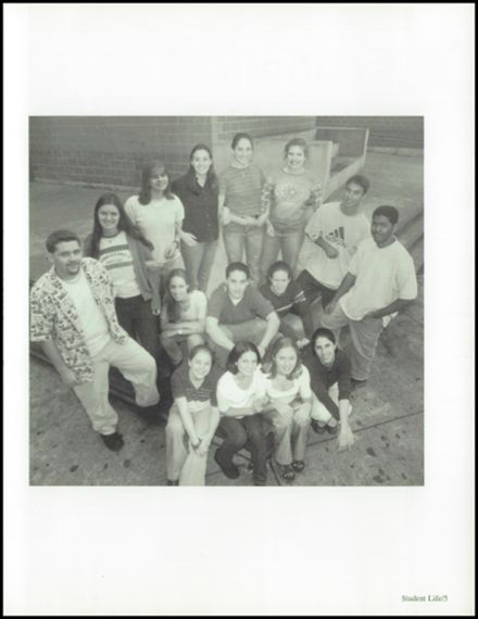 2000 Benjamin Franklin High School Yearbook Page 9