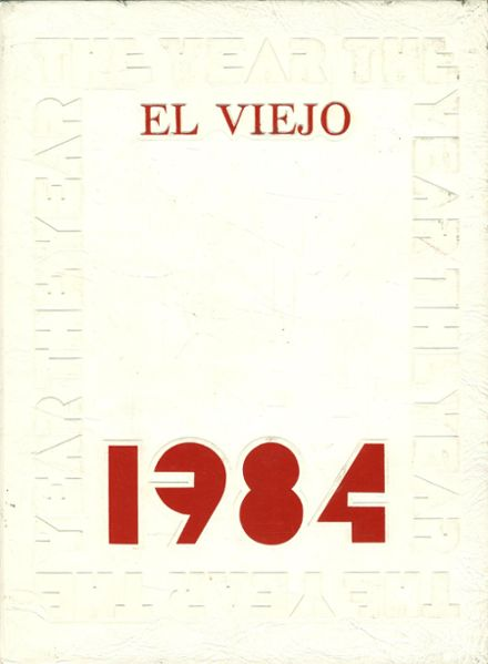 1984 Mission Viejo High School Yearbook Cover