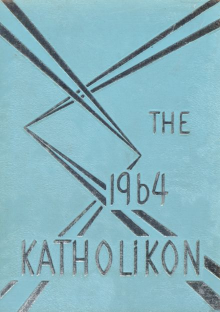 1964 Central Christian High School Yearbook Cover