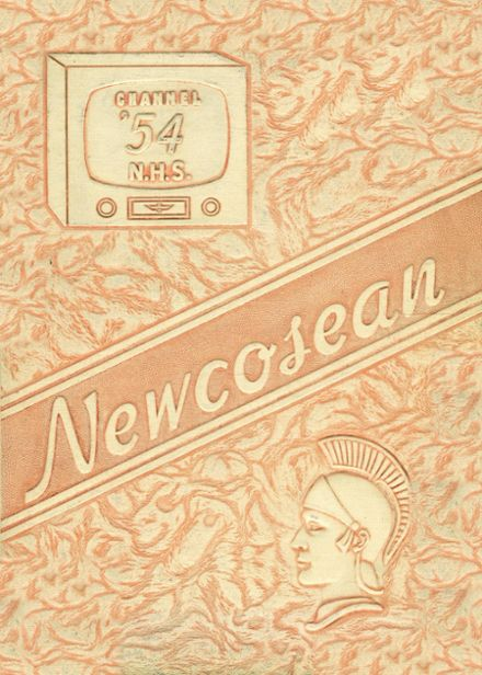 1954 Newcomerstown High School Yearbook Cover