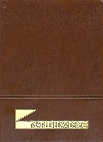 1980 Fairmont High School Yearbook Cover