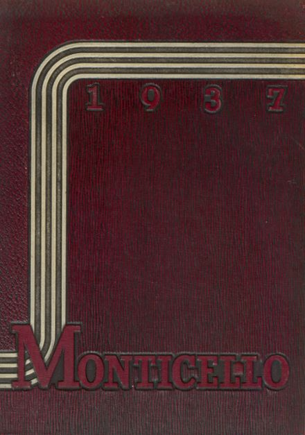 1937 Thomas Jefferson High School Yearbook Cover