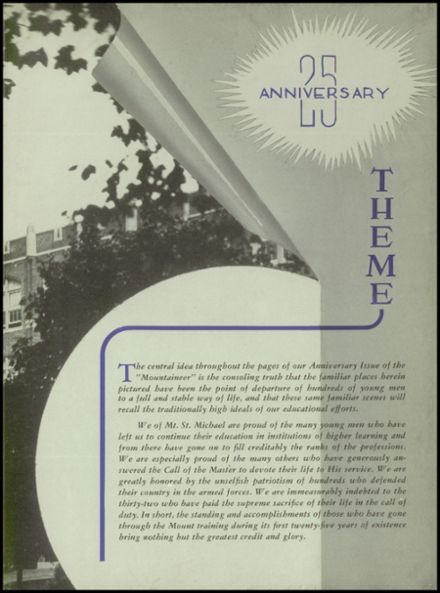 1951 Mt. St. Michael Academy Yearbook Page 7