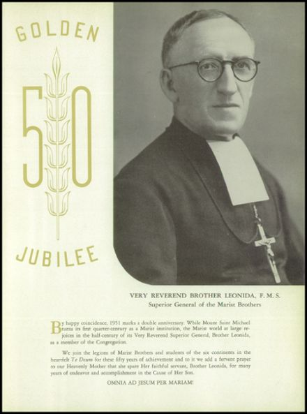 1951 Mt. St. Michael Academy Yearbook Page 9