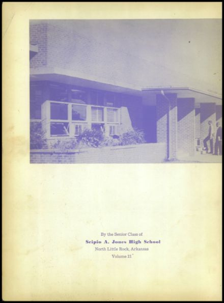 1963 Jones High School Yearbook Page 4
