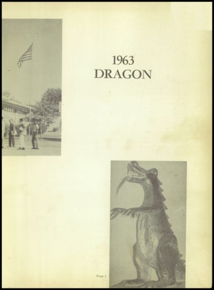 1963 Jones High School Yearbook Page 5