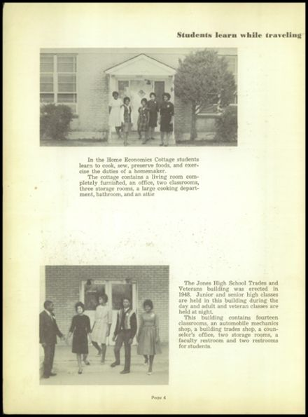 1963 Jones High School Yearbook Page 8