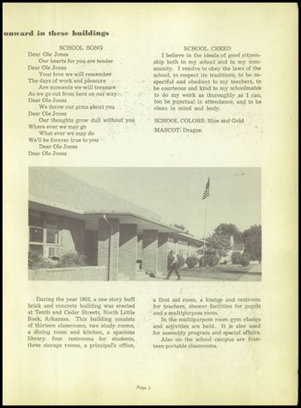 1963 Jones High School Yearbook Page 9