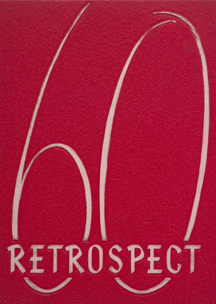 1960 Bluffton High School Yearbook Cover