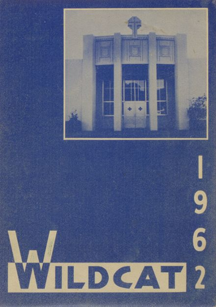 1962 Marin Catholic High School Yearbook Page 1