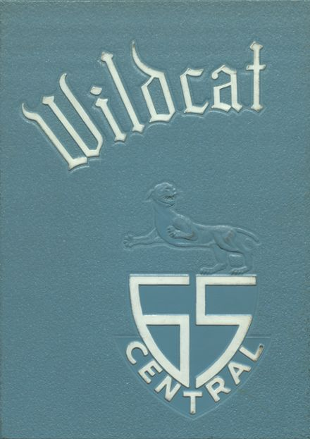 1965 Central High School Yearbook Cover