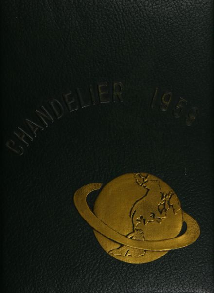 1959 South Boston High School Yearbook Cover