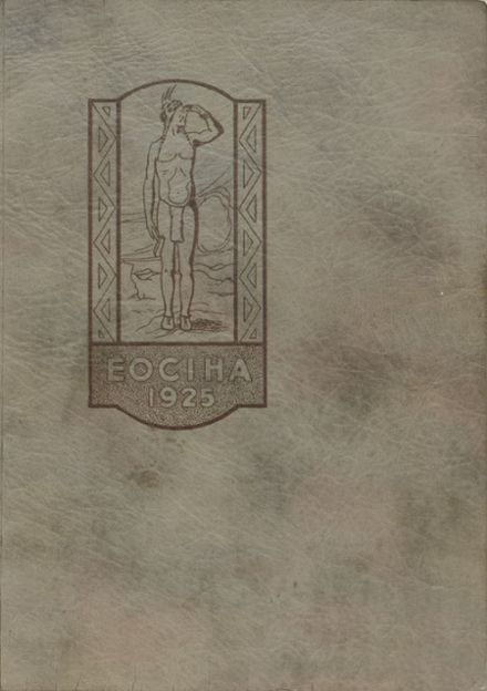 1925 Caldwell High School Yearbook Cover