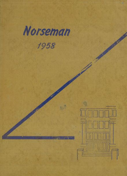 1958 Omaha North High School Yearbook Cover