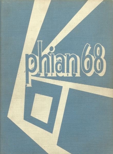 1968 St. Philip Basilica High School Yearbook Cover