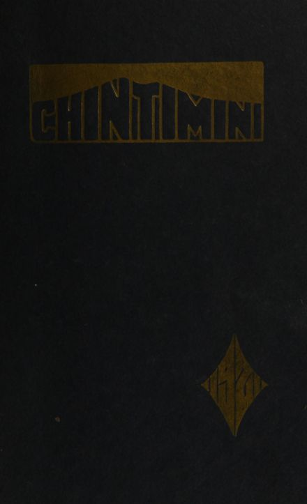 1921 Corvallis High School Yearbook Cover