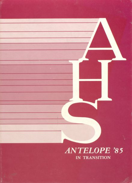 1985 Abernathy High School Yearbook Cover