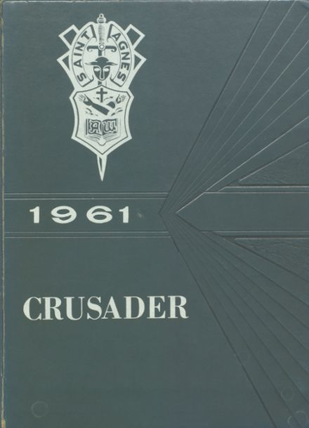 1961 St. Agnes Academy Yearbook Cover