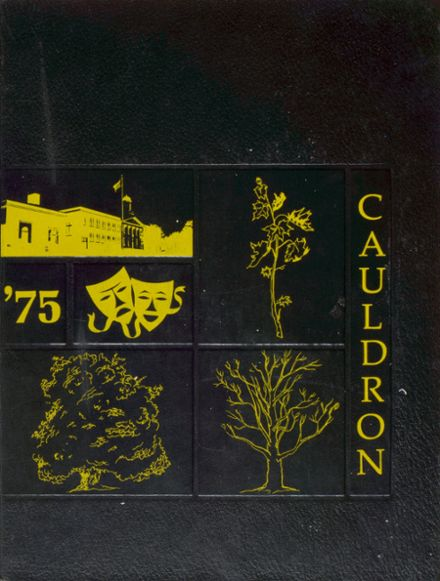 1975 Auburn High School Yearbook Cover